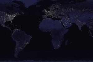 map earth digital art