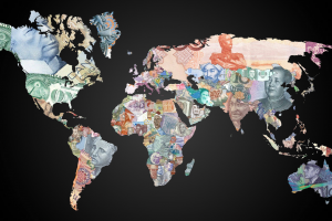map world money world map
