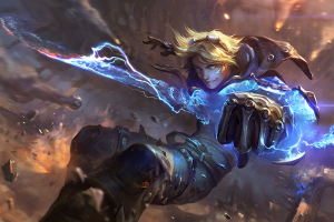 marksman attack damage carry video games league of legends ezreal adc