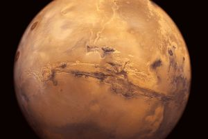 mars solar system planet space art space
