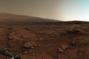 mars space landscape curiosity