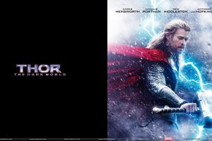 marvel cinematic universe movie poster chris hemsworth thor thor 2: the dark world mjolnir movies