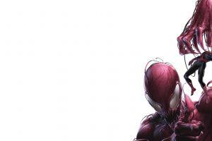 marvel comics carnage spider-man artwork