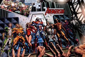 marvel comics the avengers artwork comics