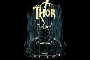 marvel comics the avengers thor artwork