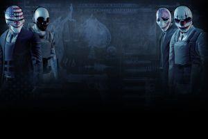 mask dark payday: the heist 2011 (year) video games