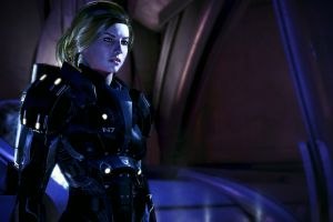 mass effect 3 commander shepard video games