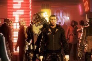 mass effect artwork digital art video games