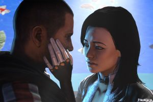 mass effect mass effect 3 cgi digital art render video games