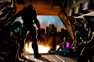 mass effect samus aran commander shepard video games master chief halo metroid dead space