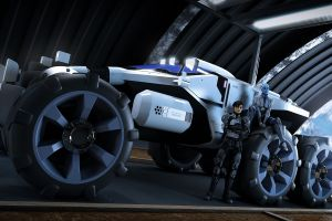 mass effect vehicle science fiction video games
