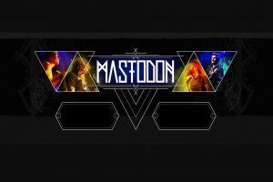 mastodon band logo music progressive metal heavy metal stoner metal digital art