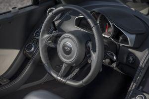mclaren mc4-12c steering wheel car interior car sports car