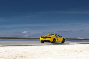 mclaren mp4-12c mclaren vehicle car yellow cars