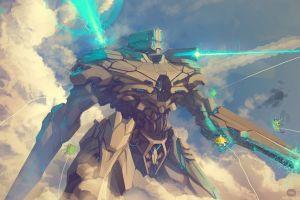 mech futuristic artwork fantasy art robot destruction cyborg