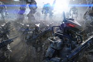 mech titanfall science fiction video games robot soldier gun futuristic