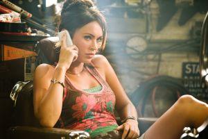 megan fox transformers movies women actress celebrity