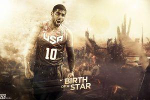 men digital art basketball