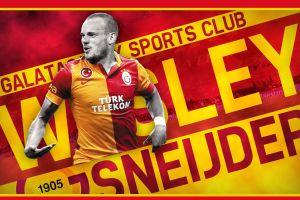 men galatasaray s.k. sport  soccer wesley sneijder