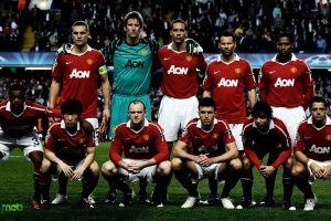 men manchester united  soccer