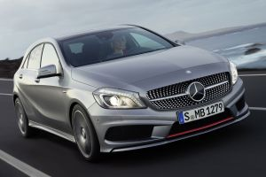 mercedes  a-class numbers silver cars vehicle car