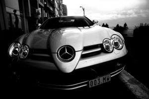 mercedes-benz slr monochrome car mercedes-benz mclaren