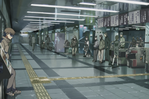 metro 5 centimeters per second makoto shinkai