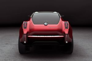 mg icon concept cars vehicle red cars