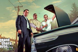 michael de santa franklin clinton video games grand theft auto v grand theft auto trevor philips