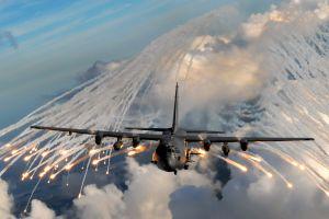 military aircraft aircraft flares