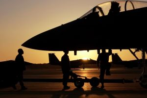 military aircraft sunlight military aircraft jets silhouette f15 eagle airplane
