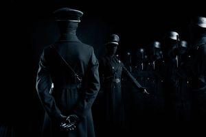 military soldier dark