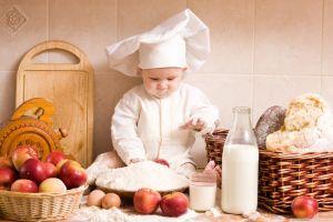 milk apples baby eggs flour bread