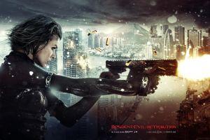 milla jovovich  movies resident evil: retribution