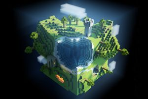 minecraft video game art video games pc gaming