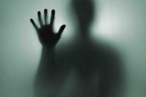 minimalism creepy hands silhouette