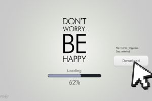 minimalism humor typography loading