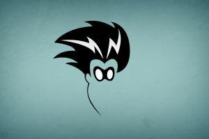 minimalism simple background warner brothers blo0p superhero hero freakazoid comics