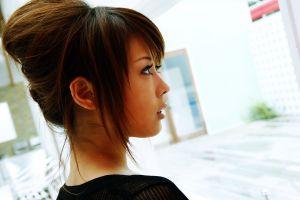model asian women face
