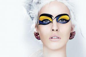 model fashion women portrait makeup
