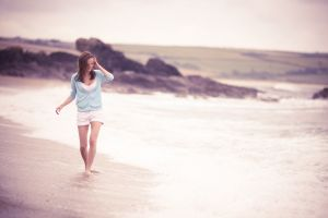 model women outdoors beach women simple background