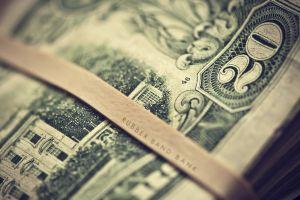 money dollars depth of field dollar bills