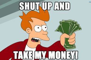 money philip j. fry memes futurama