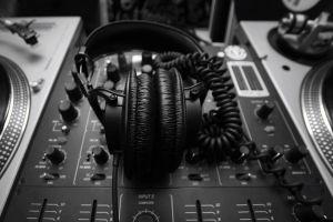 monochrome headphones audio-technica