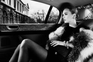 monochrome model bracelets women with cars women