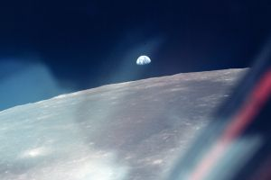 moon space earth apollo