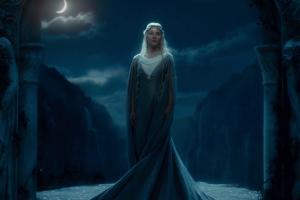 moonlight blonde cate blanchett galadriel the hobbit: an unexpected journey movies elves