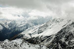 mountains caucasus mountains nature landscape