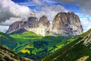 mountains dolomites (mountains) nature landscape