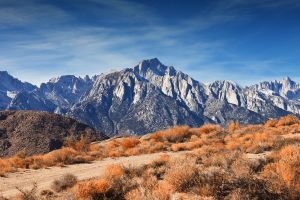 mountains landscape nature path